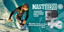 Masthero - windsurf action-camera mount